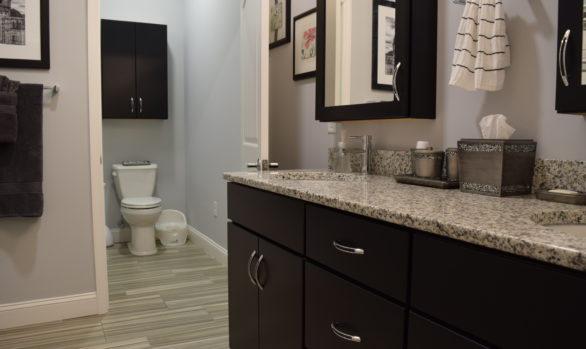 Gorgeous Gray Bathroom (B-109)